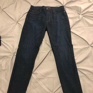 women's Joe's high rise skinny ankle jeans